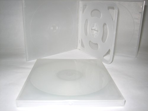 SLIM 4 DISC QUAD POLY CD DVD CASE W/ SLE - Cd Poly Slim Case Shopping Results