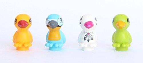 LEGO® Friends Animal Bird Lot #7 - Blue, Orange, White and Green (Friends Lego Bird Green)