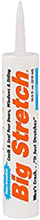product image for Sashco - BIG-P-C-12 Big Stretch Acrylic Latex High Performance Caulking Sealant, 10.5 Ounce Cartridge, Clear (Pack of 12)
