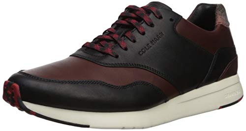 Cole Haan Men's Grandpro Runner Sneaker, Dark Coffee/Black/I