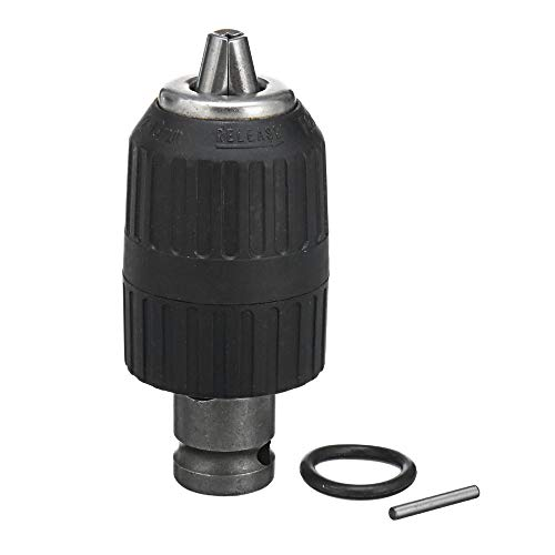 ZUINIUBI 13mm Drill Chucks Adapter 1/2-inch Electric Wrench Converter Accessories