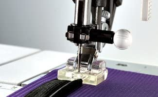 CLIP ON INVISIBLE ZIPPER ZIP FOOT FOR PFAFF SEWING MACHINE