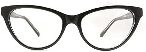 Retro Eyeworks Beverly Anti-glare Reading Glasses 52-17 MM (2.0x, Black)