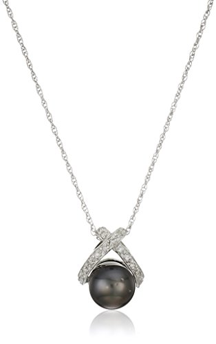 Sterling-Silver-8-85mm-Tahitian-Cultured-Pearl-and-Diamond-Pendant-Necklace-18