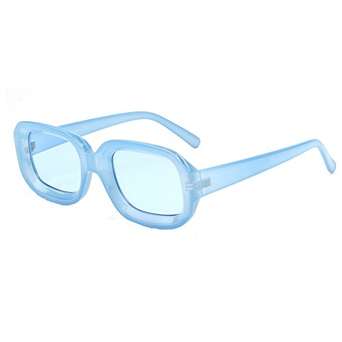 0385e6eb98 Cramilo Retro Small Square Sunglasses For Women Thick Frame Fashion Glasses