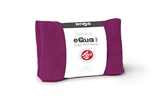 Manduka eQua Hot Yoga Mat Towel, Isabela, 72