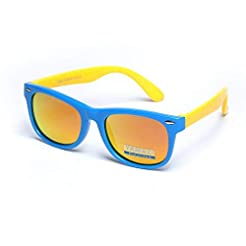 YAMAZI Kids Polarized Sunglasses Sports ...
