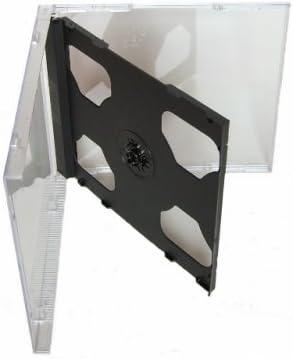 Tillmann Media Cd Leerhüllen Jewelcase Für 2 Cd Computer Zubehör