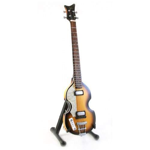 Mini Bass Guitar BEATLES PAUL MCCARTNEY Display GIFT
