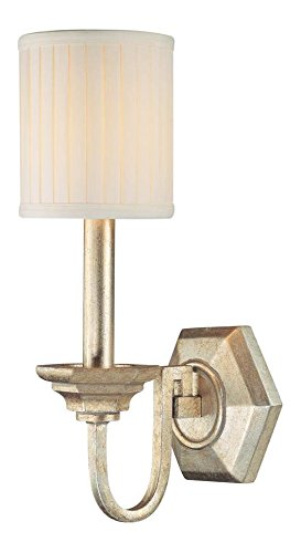 5th Avenue 1 Light - Winter Gold Fifth Avenue 1 Light Candle-Style Wall Sconce