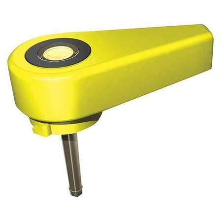 Replacement Battery Cap, Yellow, Plastic