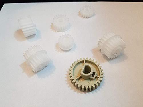 (HP P3015 Gear Set of 7 Fuser Gears for HP LJ P3005 P3015 RU5-0956 RU5-0958 RU5-0959 RU6-0965 RU7-0030 RU5-0964(RU7-0028) P3015-15T(ru5-0965))
