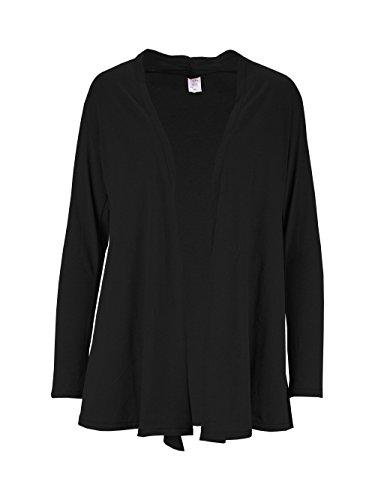 Lofbaz - Cárdigan - para mujer Solid Black