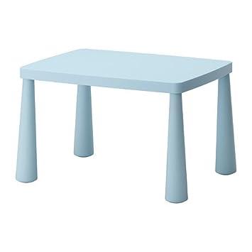 Ikea Mammut Kinder Tisch Licht Blau â 2277 X 55 Cm Amazonde