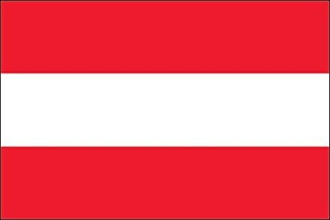Austria flag sticker decal country love vienna