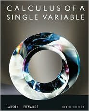 Calculus of a Single Variable 9th (nineth) edition Text Only