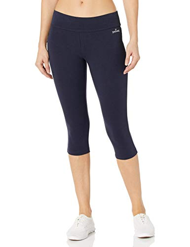 Spalding Women's Capri Legging, Ultra Navy, Medium