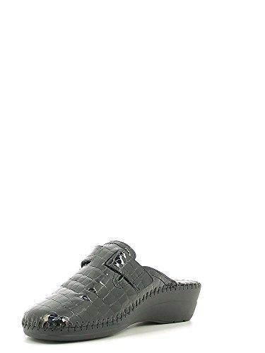 Susimoda 6620 Pantofola Donna Nero 35