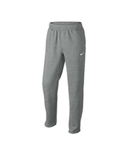 Nike Men's Club Fleece Pants Heather Grey 826424 063 (XL)