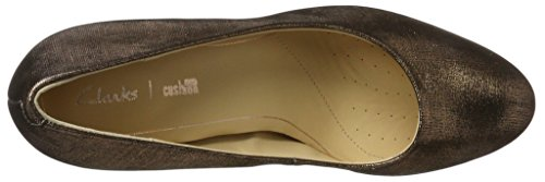 Clarks WoMen Closed Kendra Sienna Beige Pumps Copper Toe qfC4qr7