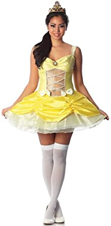 Amazon Com Delicious Belle Of The Ball Sexy Costume Clothing