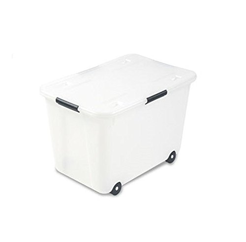 Advantus Rolling Storage Box with Snap L - Plastic Bin Wheels Shopping Results