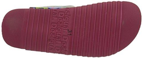 Desigual BIO 3, Mädchen Flip-Flops Pink (3022 Pink)