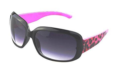 Foster Grant Vivid Sunglass Pink Tortoise Frame Blue Lenses ...