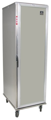"Lockwood CA73-PF16-SD-R Aluminum Full Height Non-Insulated Mobile Proofing and Heating Cabinet with Removable Tray Supports and Solid Door, 16 Pan Capacity, 22-7/8"" Width x 72-1/4"" Height x 29-3/8"" Depth"