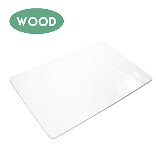 Office Chair Mat for Hardwood Floors 36 x 48 - Floor Mats for Desk Chairs ()