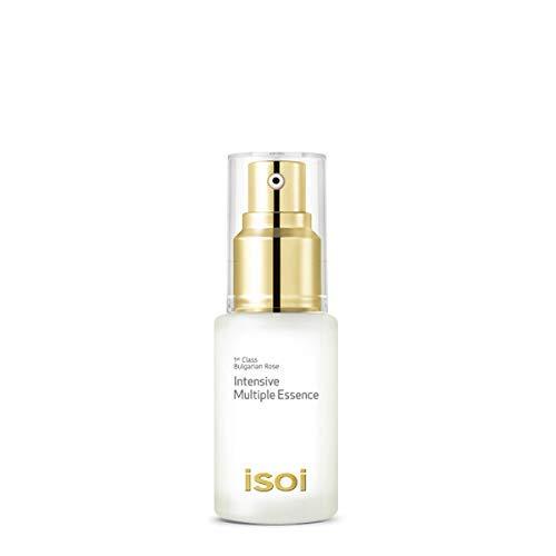 isoi Bulgarian Rose Intensive Multiple Essence, 20ml (0.68 fl oz) - All-in-one Face Serum for Hydrating, Revitalizing and Brightening Multi-purpose Skin Moisturizer