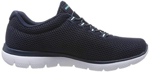 Bleu Summits light Nvlb Skechers Femme Baskets Blue navy qpwtg