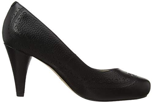 Dalia black Scarpe Clarks Leather Nero Con Tacco Ruby Donna BEqBPxd0fw