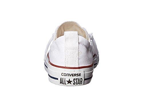 Converse Womens Chuck Taylor Shoreline Slip On Fashion Sneaker (8 (WOMEN) US, WHITE) by Converse (Image #3)