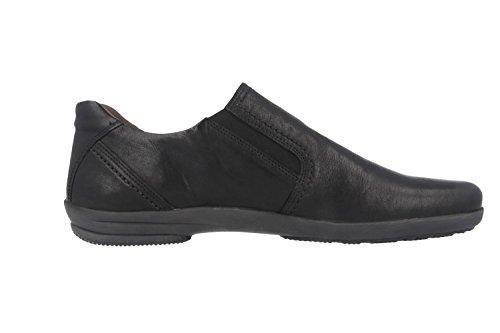 Femme Noir Noir Casual Rush Cuir Gabor Chaussures Rw0tXqf