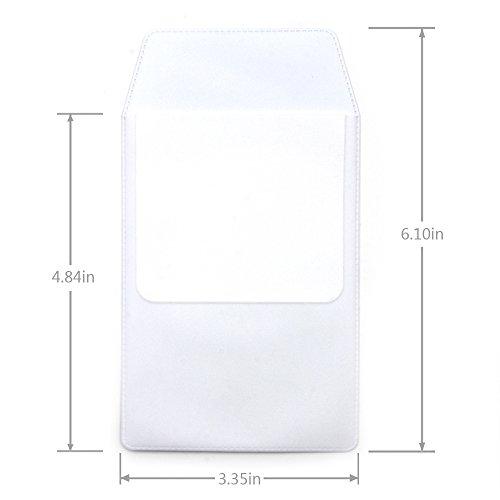 KLOUD City 4 PCS White Pocket Protector for Pen Leaks by KLOUD City (Image #3)