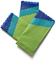 Organic Reusable Food Wraps by ETEE, 6 Packs of 3 (9 Total) Eco-Friendly Food Wraps - Biodegradable & Plastic Free, Designed and Produced in Canada