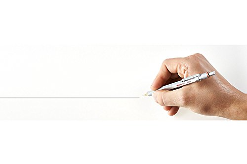 rOtring 1904448 800 Retractable Mechanical Pencil, Silver Bar, 0.7 mm, Silver Barrel by Rotring (Image #6)