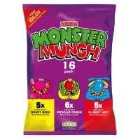 Mega Monster Munch (Multipack 16)