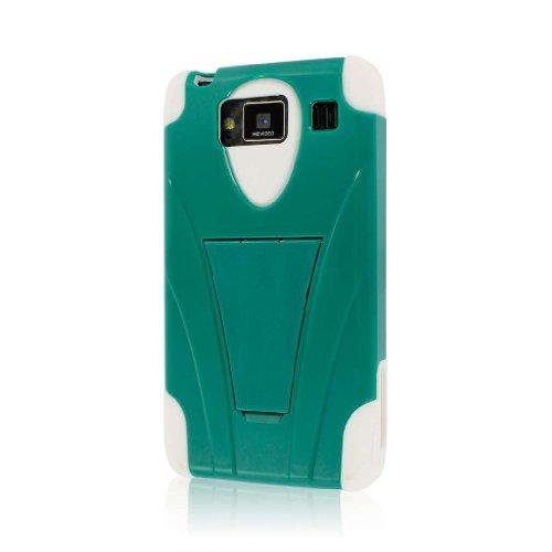 - Motorola DROID RAZR MAXX HD Case (XT926), MPERO IMPACT X Series Dual Layered Tough Durable Shock Absorbing Silicone Polycarbonate Hybrid Kickstand Case for DROID RAZR MAXX HD [Perfect Fit & Precise Port Cut Outs] - Teal Green