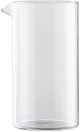 First4Spares – Vaso de cristal de repuesto para cafetera/Bodum 8 taza cafetera de émbolo de prensa: Amazon.es: Hogar