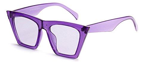 Sol Rojo De Mujeres De TIANLIANG04 Mujer Hombres Gato Uv400 purple Para Ojo Gafas Gafas De De 8pwfB