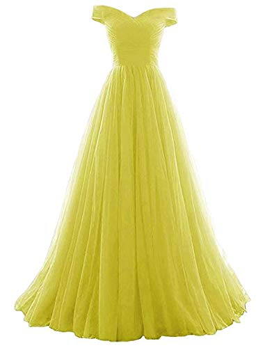 Women's A-line Tulle Prom Formal Evening Homecoming Dress Ball ()