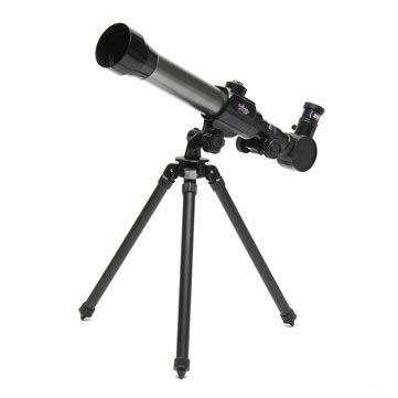 Camping Telescope & Binoculars - Children Astronomical Telescope Monocular+20X/30X/40X Eyepiece Spotting Scope+Tripod -