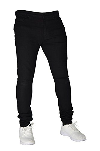 Flex 2 28–40 Cotone Elasticizzato Slim In E Black Pantaloni Vita Stretch Fit Denim Uomo 98 Da PgwWFqpI