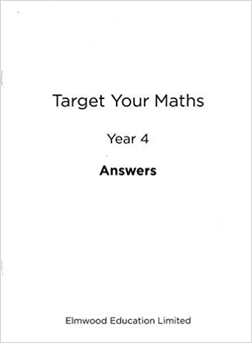 Target Your Maths Year 4 Answer Book: Year 4: Amazon.co.uk: Stephen ...