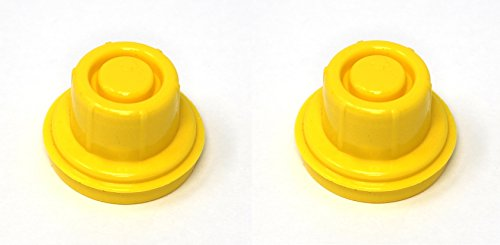 2Pack BLITZ Yellow Gas Can Spout Cap fits self-venting gas can spouts 900302 900092 900094 Aftermarket (SPOUTS NOT - Cans Fuel Blitz