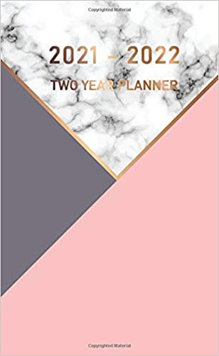 Calendar Books 2022.Amazon Com 2021 2022 Two Year Planner Elegant Marble Pocket Monthly Calendar For 2 Year Schedule And Small Organizer Personal Time Management Purse Notebook 9798652763145 Montana Christy Books