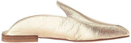Pointed Black Cavallari Leather Chinese Toe Capri Women's Kristin Gold Laundry Flat 1UqpX