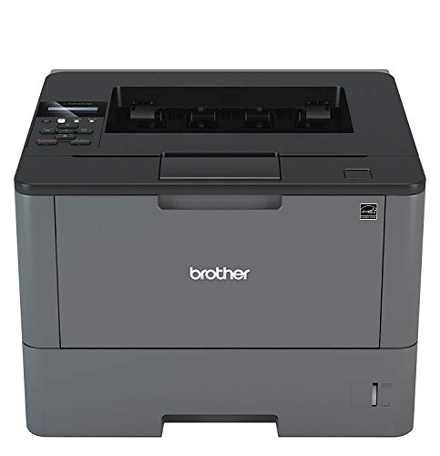 Brother Monochrome Laser Printer, HL-L5200DW, Wireless Networking, Mobile Printing, Duplex Printing, Amazon Dash Replenishment Enabled